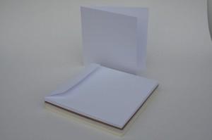 BAZA ECO-Scrapbooking DO KARTEK 15*15 BIAŁA