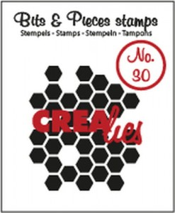STEMPEL AKRYLOWY CREALIES CLBP30 No.30 HONEY COMB