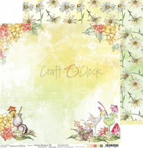Papier scrap Craft O'Clock 30,5*30,5 F12 Warm Breeze 02