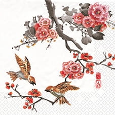 SERWETKA LUZ 33*33 HOME F. 211172 PAINTED ASIA