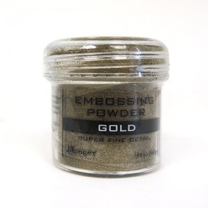 Puder do embossingu RANGER Embossing Powder 34ml EPJ37408 GOLD Super Fine Detail
