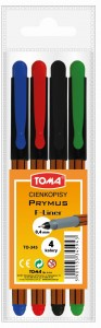 CIENKOPISY TOMA PRYMUS A'4SZT 0,4MM TO-345