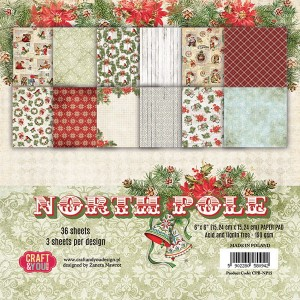PAPIER SCRAP C&Y 15,2*15,2 A'36ARK NORTH POLE