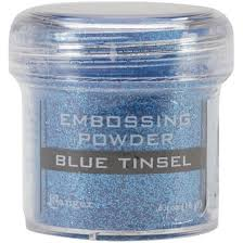 Puder do embossingu RANGER Embossing Powder 34ml EPJ41030 BLUE TINSEL
