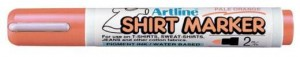 MARKER T-SHIRT ARTLINE 2MM PALE ORANGE