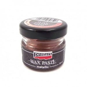 PASTA WOSKOWA PENTART WAX PASTE 20ML METALLIC COPPER