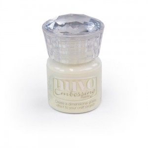 Puder do embossingu NUVO 603N Classic Crystal Clear