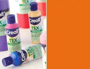 FARBA DO TKANIN CREALL TEX 80ML 03 ORANGE 90705