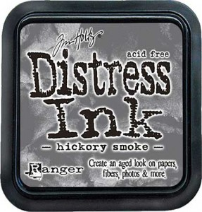 DISTRESS INK PAD HICKORY SMOKE