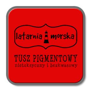 TUSZ DO STEMPLI LM PIGMENTOWY LM-T0014 CZERWONY