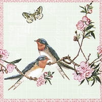SERWETKA LUZ 33*33 HOME F. 211408 SWALLOWS