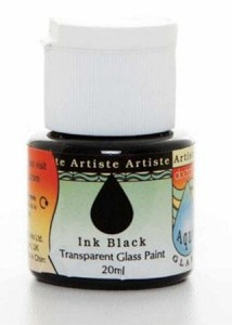 FARBA DO SZKŁA DOCRAFTS ARTISTE 20ML 764116 BLACK