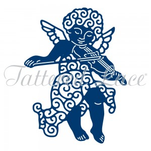 WYKROJNIK TATTERED LACE D787 CHERUB