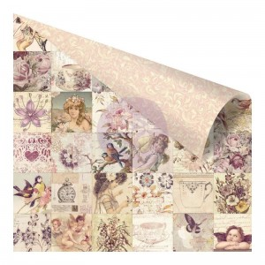 PAPIER SCRAP PRIMA 30,5*30,5 BUTTERFLY-951191 Vintage Collage