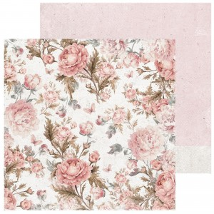 PAPIER SCRAP KAISERCRAFT 30,5*30,5 SAGE & GRACE P2307 Blush