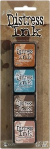 DISTRESS INK MINI PAD KIT #6