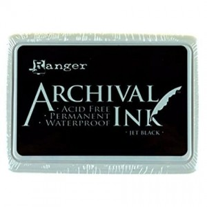 Archival Ink Pad Black