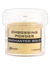 Puder do embossingu RANGER Embossing Powder 34ml EPJ37491 ENCHANTED GOLD