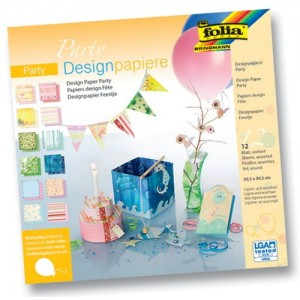 PAPIER SCRAP FOLIA 30,5*30,5 A'12ARK PARTY