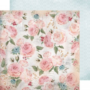 PAPIER SCRAP KAISERCRAFT 30,5*30,5 ROSE AVENUE P2406 Patio