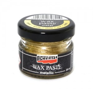 PASTA WOSKOWA PENTART WAX PASTE 20ML METALLIC GOLD