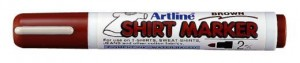 MARKER T-SHIRT ARTLINE 2MM BROWN