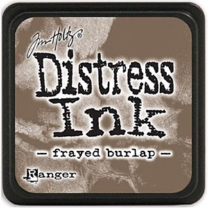 DISTRESS INK PAD FRAYED BURLAP