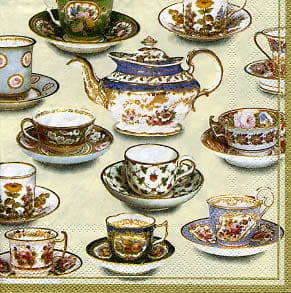SERWETKA LUZ 33*33 IHR 5660 FIVE O CLOCK TEA