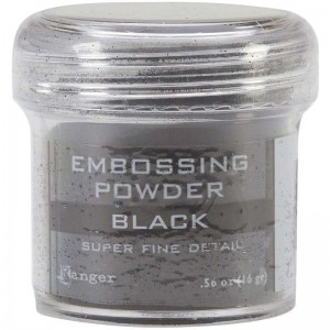 Puder do embossingu RANGER Embossing Powder 34ml EPJ37392 BLACK Super Fine Detail