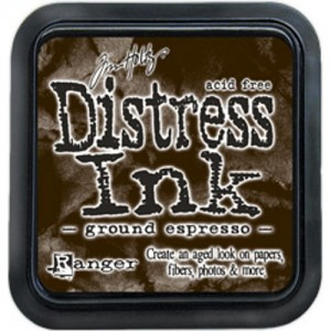 DISTRESS INK PAD GROUND ESPRESSO