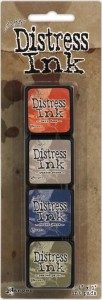 DISTRESS INK MINI PAD KIT #5