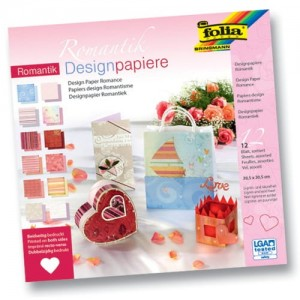PAPIER SCRAP FOLIA 30,5*30,5 A'12ARK ROMANTIK
