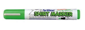 MARKER T-SHIRT ARTLINE 2MM FLUORO.GREEN