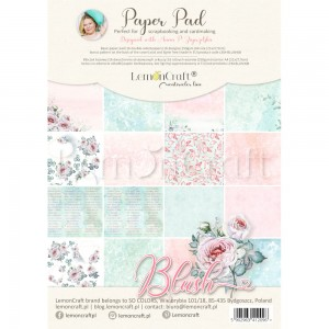 PAPIER SCRAP LemonCraft A4 Blush bloczek