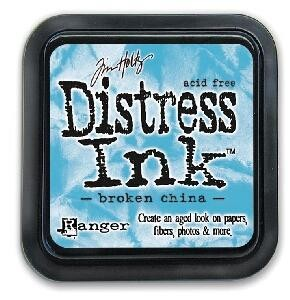 DISTRESS INK PAD BROKEN CHINA