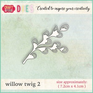 WYKROJNIK CRAFT&YOU CW008 WILLOW TWIG 2 / BAZIA 2