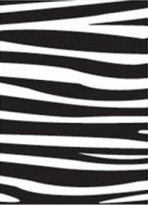 FOLDER DO EMBOSSINGU DARICE 1217-42 ZEBRA