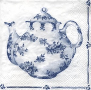 SERWETKA LUZ 33*33 IHR 478194 TEA FOR TWO