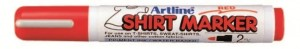 MARKER T-SHIRT ARTLINE 2MM RED