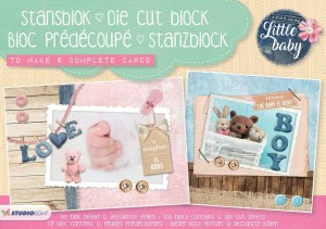 BLOK KREATYWNY STUDIO LIGHT A5 STANBLOKSL01 Little baby
