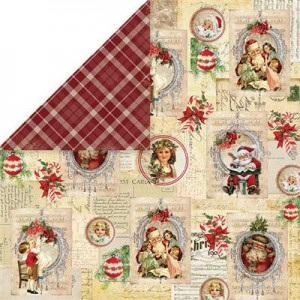 PAPIER SCRAP C&Y 30,5*30,5 NORTH POLE 03