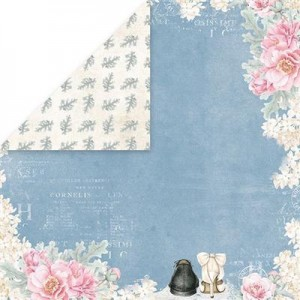 PAPIER SCRAP C&Y 30,5*30,5 PASTEL WEDDING CP-PW05