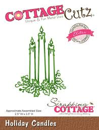 WYKROJNIK COTTAGE CUTZ CCE-329 HOLIDAY CANDLES