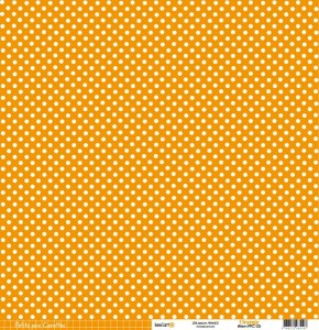 PAPIER SCRAP KESI'ART 30*30 200G PPC-05 ORANGE